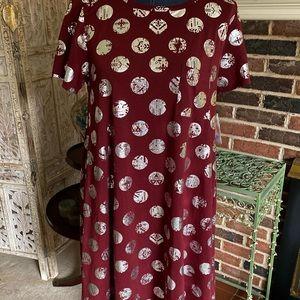 LuLaRoe Vintage Elegant Carly NWT